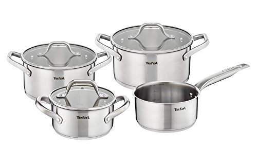 Tefal E825 A8 Hero Pans Set of 7, Suitable for Induction Cookers