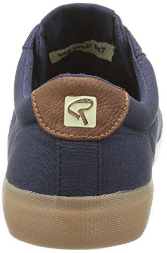 Redskins - Segar, Sneaker Uomo Blu (Bleu (Marine/Cognac))