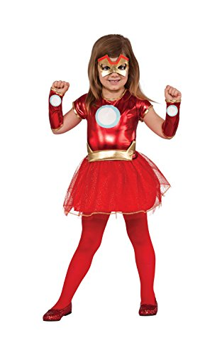Lil Eiserne Lady - Avengers Assemble - Kinder-Kostüm - Medium - 132cm