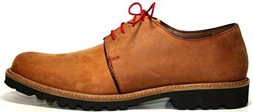 Manz , Chaussures de ville à lacets pour homme Beige Beige Beige - Beige (kastanie 182)