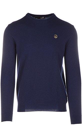 Love Moschino maglione maglia uomo girocollo blu EU M (UK 38) M S 4U4 00 X 0927 Y7