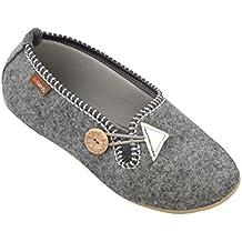 TOOGOO(R)Zapatos de las mujeres zapatillas de invierno termico caliente de felpa el patron de la panda el articulos en la casa JOcB0H75Mc
