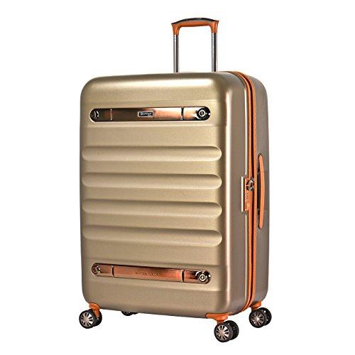 Eminent Nostalgia, Unisex-Erwachsene Koffer Gold champagnerfarben L