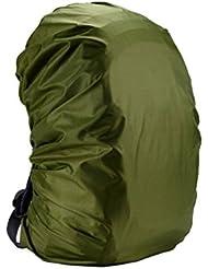 Hzjundasi 2x Impermeable Equipaje Bolso Mochila Poncho Polvo Seco Lluvia Cubrir para Senderismo Viajes Camping