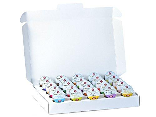 apseln 25 Sorten Probiermix - 25 unterschiedliche Tees aus aller Welt (insgesamt 25 Teekapseln) ()