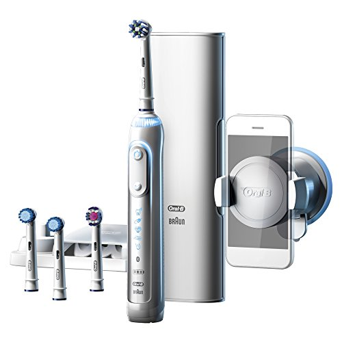 Oral-B Genius 9000S Elektrische Zahnbürste weiß