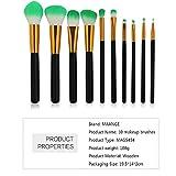 Make-up-Pinsel, Baumwoll-Blush-Pinsel mit Griff COS kosmetische flüssige Foundation-Creme Concealer-Biskuit-Lollipop-Pinsel