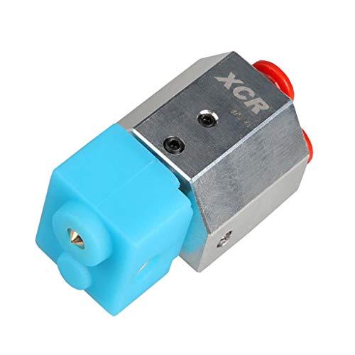 FLAMEER Wassergekühltes Hotend MK8 Extruder Kit 3D-Drucker Teile Zubehör Universal Ganz Metall Hotend