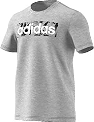 adidas Essentials Linear AOP Box T-Shirt Homme