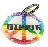 Pellina Dog Tag Hundemarke (Peace Rainbow)