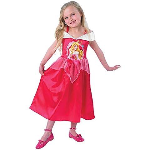 Disney - Disfraz de princesa para niña, talla 5 - 6 años (I-889553M)