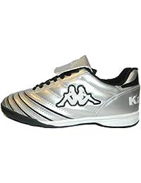 Kappa Schuhe Fußballschuhe Jungen Farbe Silber