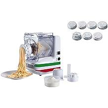 Máquina de Pasta eléctrica 10insertos Spätzle Prensa para espaguetis de hielo de prensa (rodillo de prensa, pasta maker, rodillo de Maker, dispositivo para mezclar,–Amasadora)