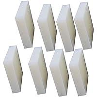 SOFIALXC Lámina De Goma De Silicona Alfombrilla Antideslizante 8 piezas-50mmx50mm×10mm