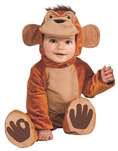 Fox Kostüm Kleinkind - Rubie's Funky Monkey Strampler Kleinkind Kostüm 1-2Jahre