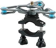 freneci Supporto da Manubrio per Videocamera da Mountain Bike per Action Cam DJI OSMO - Alloy 360