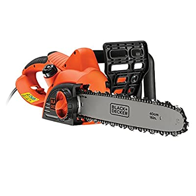 Black + Decker CS2040-GB 40 cm Chainsaw Corded, 2000 W