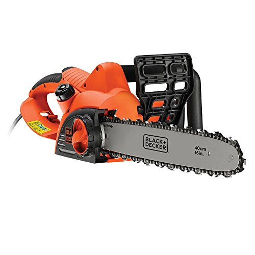 Black + Decker CS2040-GB Kettensäge mit Kabel, 2000 W, 40 cm, CS2040-GB, 240 voltsV