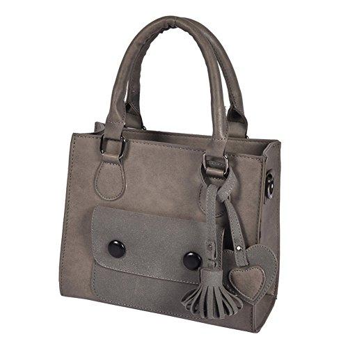 Wtus Ladies Diagonal Handbag Flip Color Shoulder Shoulder 2017 New Fashion Bags Messenger Bag Pouch Grey