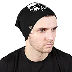 Noise Focus on Airking Beanie With Ring (Black)