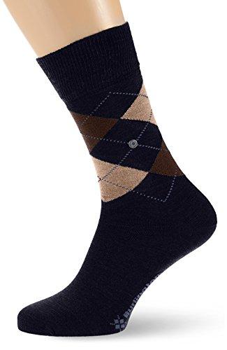 Burlington Herren Socken Edinburgh, Blau (Navy 6143), 40/46 (Herstellergröße: 40-46)