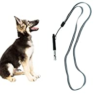 Scenereal Co. Dressage de chien Sifflet avec des fréquences réglables et lanière pour la formation de chien