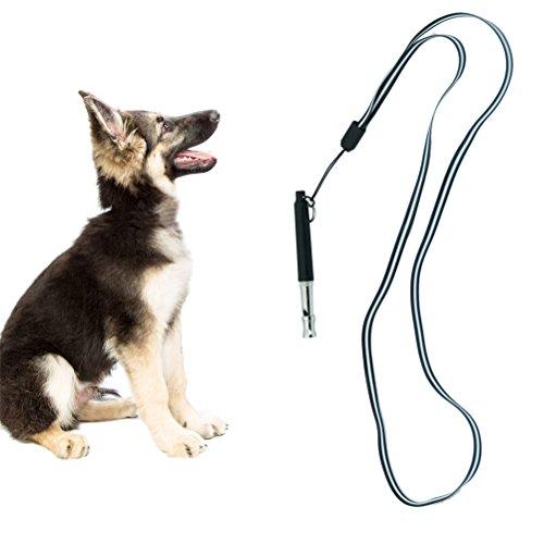 scenereal CO. Hundepfeife mit verstellbare Frequenzen & Schlüsselband für Hunde Training