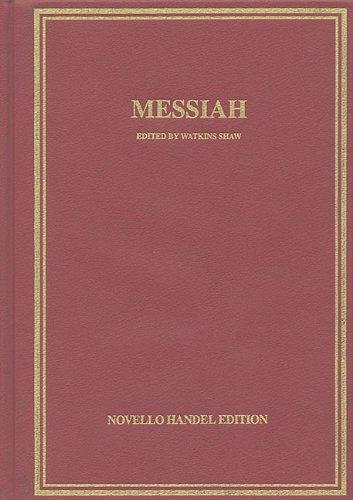 Messiah: Vocal Score Hardcover