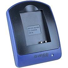 Caricabatteria USB (senza cavo/adattatori) per Canon NB-5L / Ixus 90 IS, 800 IS, SD990 IS...Powershot S110, SX230 HS ...v. lista