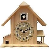 Cuco De Madera Maciza Reloj De Pared-Sala De Estar Reloj Creativo-Niños Reloj