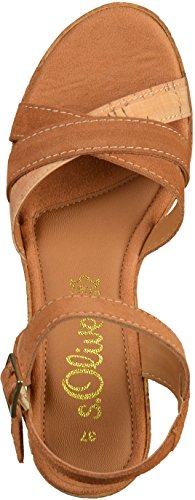 s.Oliver 5-28302-28 femmes Sandale Cuoio