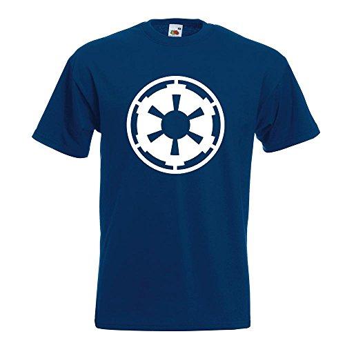 KIWISTAR - imperium T-Shirt in 15 verschiedenen Farben - Herren Funshirt bedruckt Design Sprüche Spruch Motive Oberteil Baumwolle Print Größe S M L XL XXL Navy