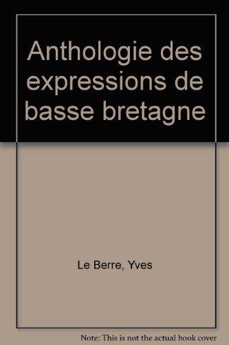 Anthologie des expressions de basse bretagne