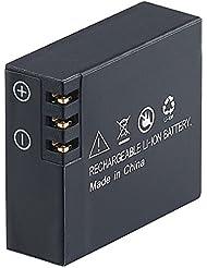 SOMIKON Batterie Li-Ion pour caméra d'action de DV 4017. WiFi, 3,7V, 1050mAh