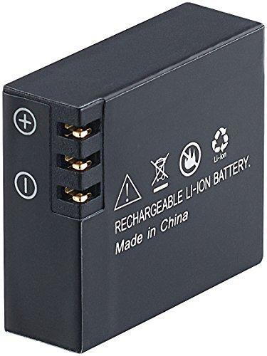 Somikon Zubehör zu Action Cams 4K: Li-Ion-Akku für DV-4017.WiFi, DV-3217.WiFi & DV-1212 V2, 3,7V, 1050mAh (Action Cams HD)