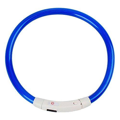 profusion Circle LED Collier de chien, USB rechargeable...
