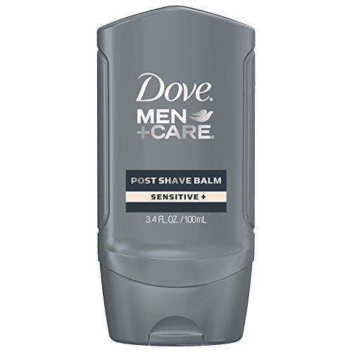 Men Moisture Balm (Dove Men+Care Post Shave Balm, Sensitive (Herren Rasur Nachbehandlung für sensible Haut, 100ml) USA)