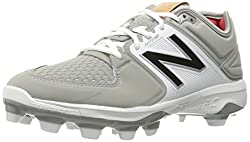 New Balance Men's 3000v3 Baseball Tpu Cleat, Greywhite, 15 D Us
