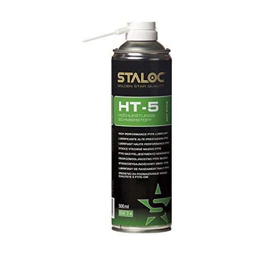 STALOC Hochleistungs-Schmierstoff HT-5 | Sprüh-Öl | mit PTFE | 500 ml