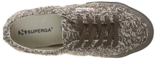 Superga Damen 2750-Fantasyw 2 Babys Braun - 928 Brown OffBlanc
