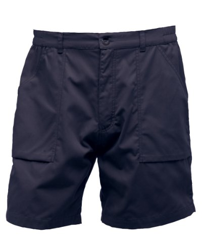 Image of Regatta Mens New Action Shorts (40inch) (Navy Blue)
