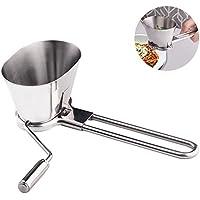 HYZ - Picadora de acero inoxidable con múltiples funciones para parsley, verduras, utensilios de cocina
