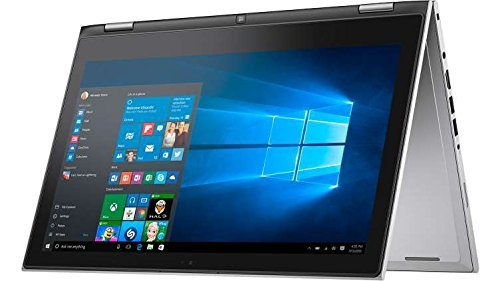 2 in 1 Dell Inspiron 7000 13.3 Full HD Touchscreen Flagship Premium Backlit keyboard Ultrabook Laptop PC| Intel Core i7-6500U| 8GB RAM| 256GB SSD| MaxxAudio| Windows 10| 1 year office 365