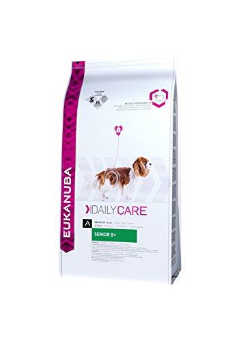 Eukanuba Daily Care Senior 9+, Hundefutter für ältere Hunde ab 9 Jahre, Trockenfutter mit Huhn (1 x 12 kg)