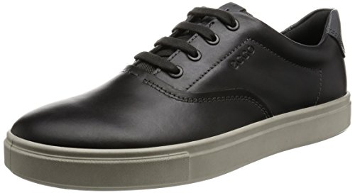 Ecco Kyle, Baskets Basses Homme Gris (55880Moonless/Titanium)