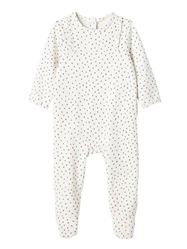 ba63d2580b608 VERTBAUDET Lot de 2 pyjamas bébé molleton dos pressionné Lot Parme Grisé  NAISSANCE - 50CM