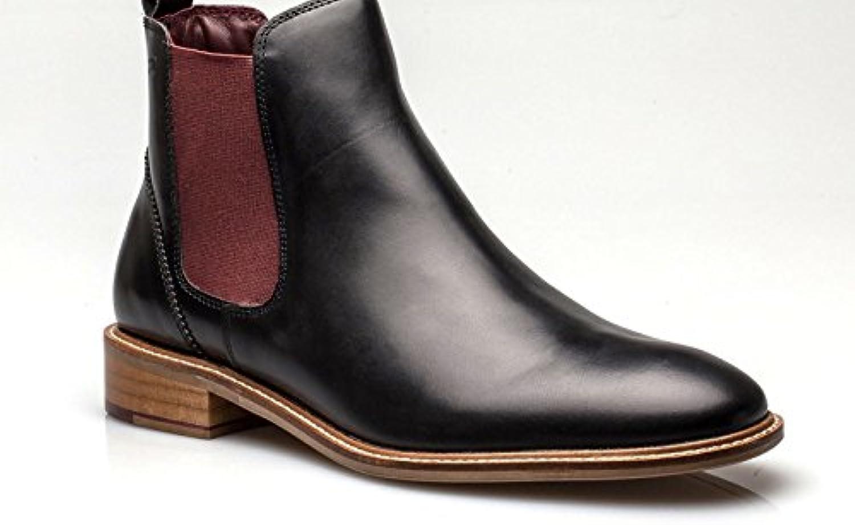 London Brogues Herren Kurzschaft StiefelLondon Brogues Kurzschaft Stiefel Schwarz Billig und erschwinglich Im Verkauf