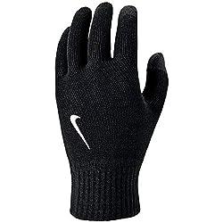 Nike Unisex- Erwachsene Knitted Tech and Grip Handschuhe, Black/White, L/XL