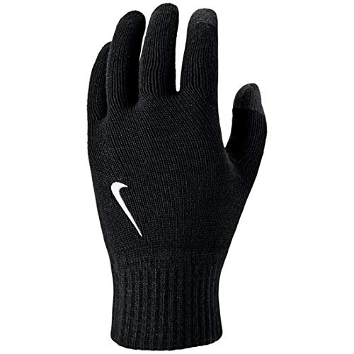 Nike Unisex - Erwachsene Knitted Tech and Grip Handschuhe, Black/White, L/XL