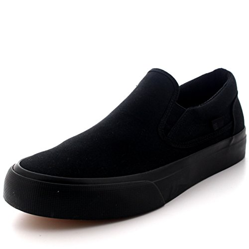 Dc Trase Slip-On T M Shoe Bkw, Mocassini da Uomo Noir - Black 3